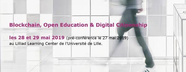 Conference Blockchain, Open Education & Digital Citizenship, on 28